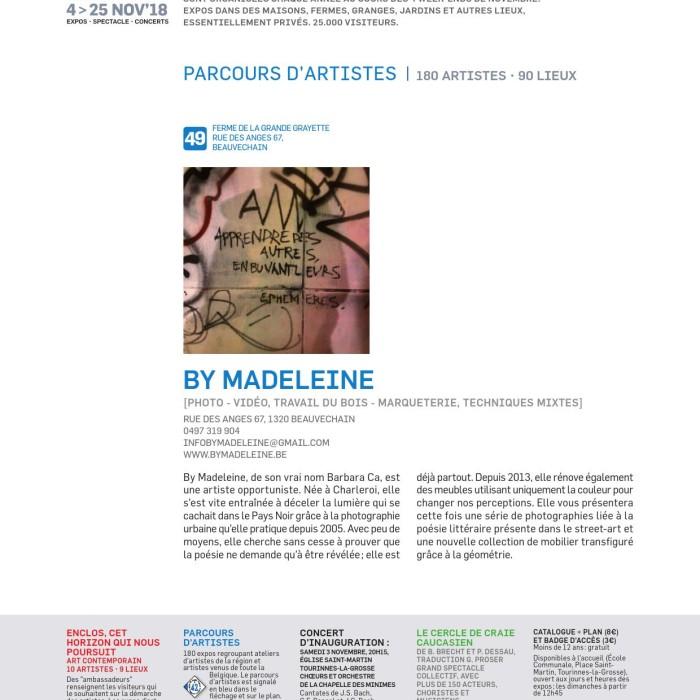 Fêtes de la Saint-Martin 2018 - By Madeleine expose